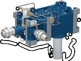 Коническо-цилиндрические редукторы для мешалок RXP/MX 800