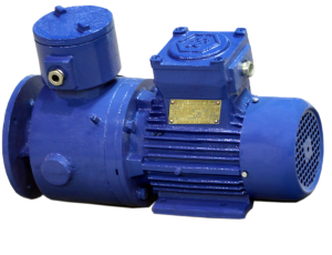 Трехфазные асинхронные взрывобезопасные электродвигатели с электромагнитным тормозом серии—ASAF.